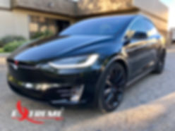 Extreme Autowerks Tesla Prestige Spectra PhotoSync Prestige ClearGuard Nano Paint Protection Film