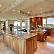 Kitchen countertops protected by StoneGuard® Stone Surface Protection Film installed by Extreme Window Film Solutions™