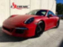 Extreme Autowerks® 2016 Porsche C4S with LLumar Matte Paint Protection Film
