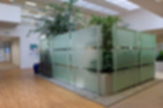 Office Frosted Decorative Film installed by Extreme Window Film Solutions™