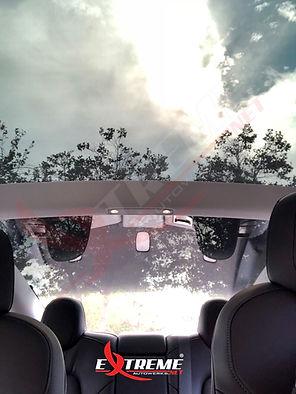 Extreme Autowerks Tesla Model 3 One Piece Rear Glass Tint Prestige Spectra PhotoSync