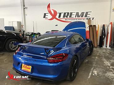 Extreme Autowerks® 2016 Porsche GT4