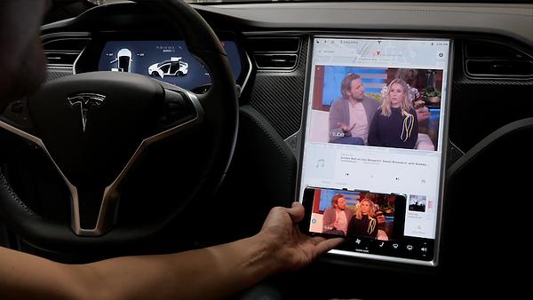 Extreme Autowerks Tesla Screen Mirroring