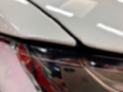 Pre-Cut Paint Protection FIlm PPF Clear Bra on Tesla Model X
