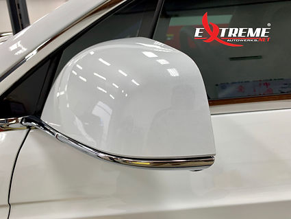 Extreme Autowerks Tesla Model X Prestige ClearGuard Nano Paint Protection Film Installation