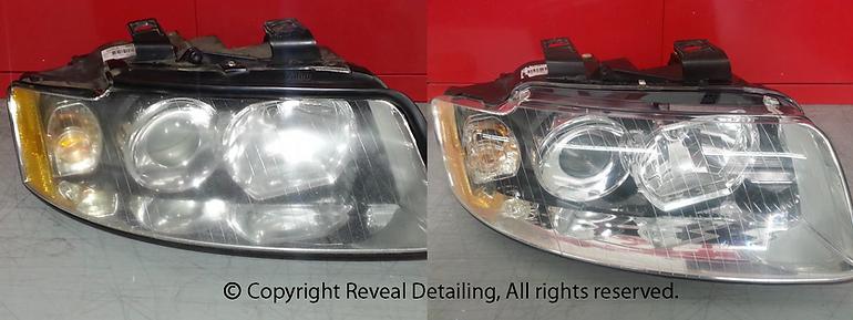 Headlight Restoration Reveal Detailing Extreme Autowerks®