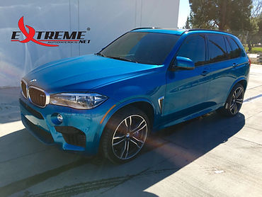 Extreme Autowerks® 2016 BMW X5M Long Beach Blue