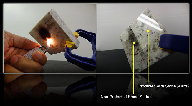 StoneGuard® Stone Surface Protection Film Extreme Window Film Solutions™