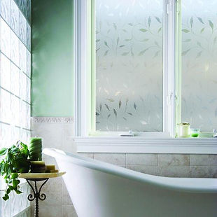 Residential Window Frost Decorative Film installed by Extreme Window Film Solutions™