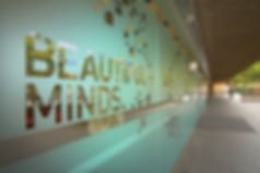 Custom Frosted Slogan Decorative Film installed by Extreme Window Film Solutions™