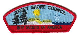 Jersey Shore Council Patch