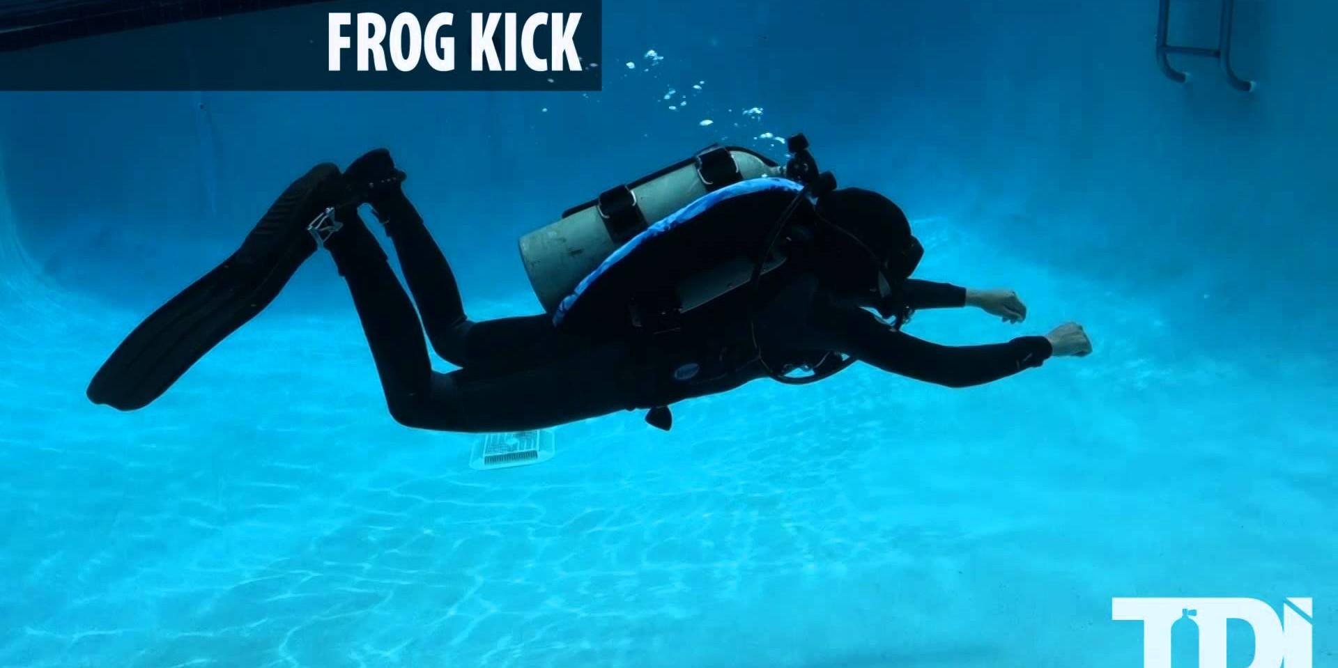 SDI/TDI Scuba Diving Finning Techniques - Frog Kick