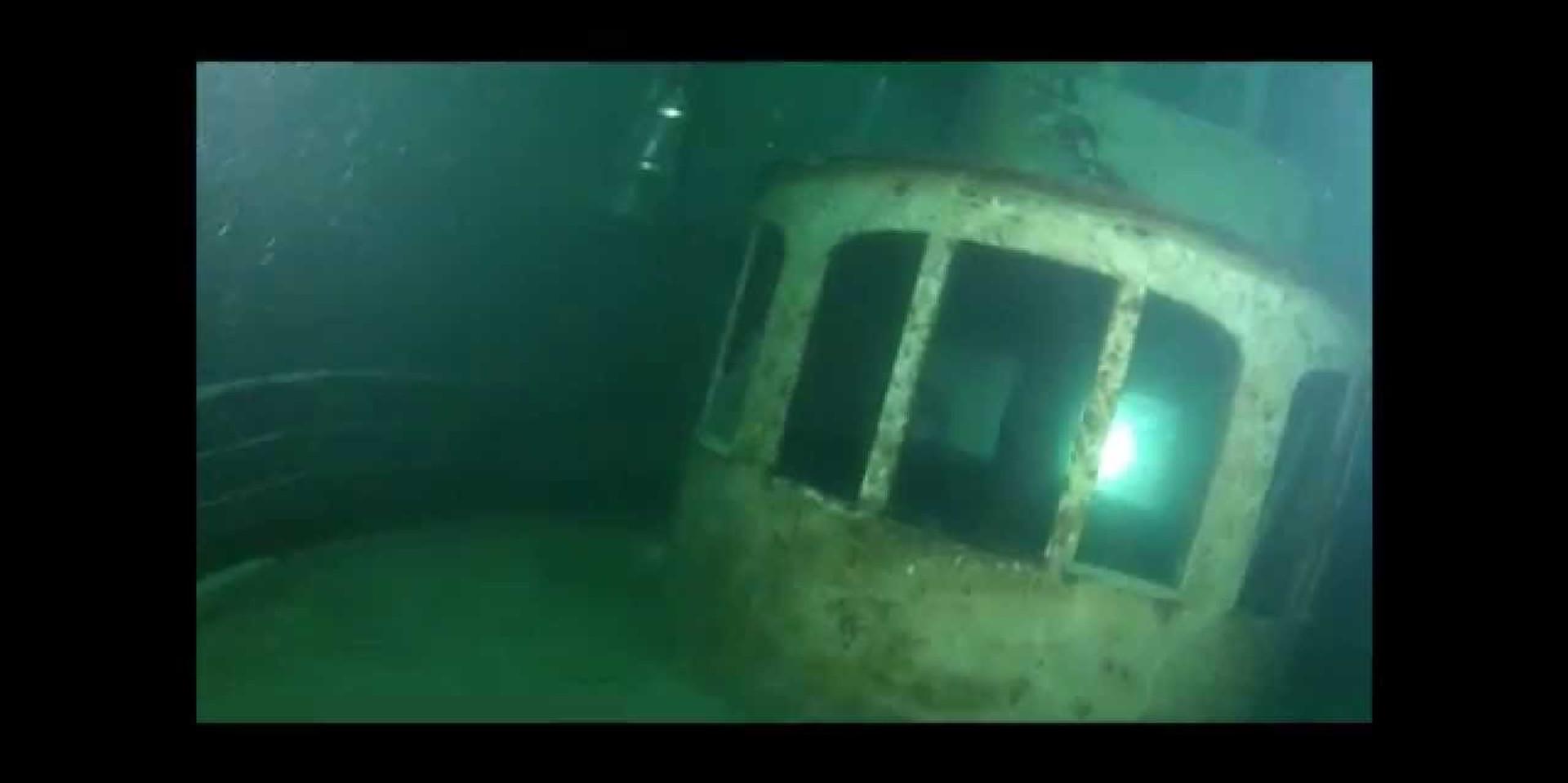 Plongée sur le France - Nicolas