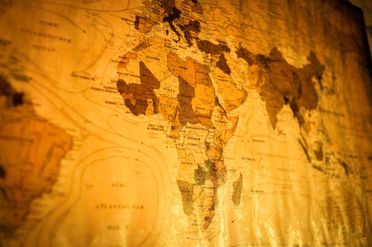 Weltkarte - Design Prop