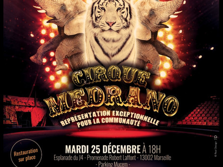 Habad Loubavicth Marseille centre et le Cirque Médrano
