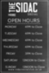 Copy of Business Opening Hours Poster Te