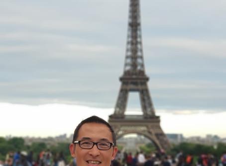 1st Bonjour France!