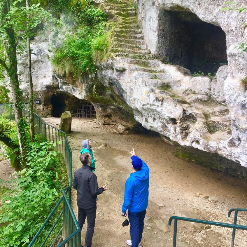 Pre historic site visit