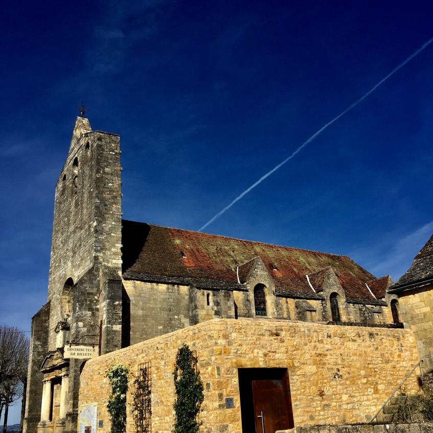 L'église dans Domme