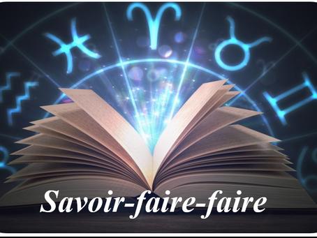 LE SAVOIR-FAIRE ET LE SAVOIR-FAIRE-FAIRE