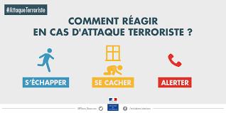 COMMENT RÉAGIR EN CAS D'ATTAQUE TERRORISTE ?