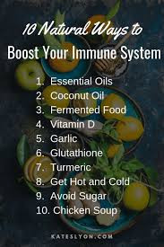 Natural Ways to Boost Your Immunity to Dodge the Cold & Flu Season