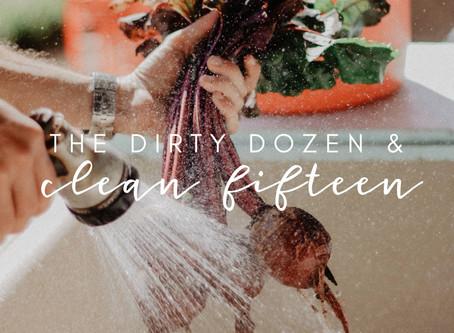 Dirty Dozen & Clean 15