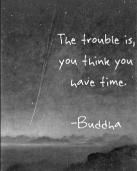 """""""The Trouble Is You Think You Have Time"""""""