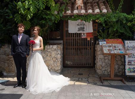 皓呆與蕎蕎的海外婚紗