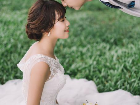 韓系婚紗-小魚