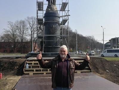 Автор скульптуры Александра Невского назвал дату открытия памятника в Калининграде!