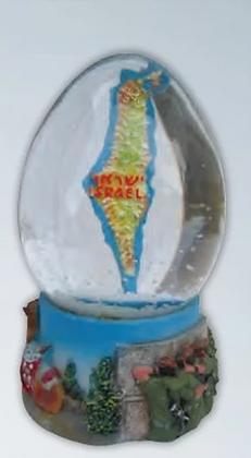 כדור שלי מפת ארץ ישראל