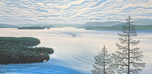 Pender Island Viewpoint