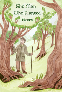 The Man Who Planted Trees, Cover