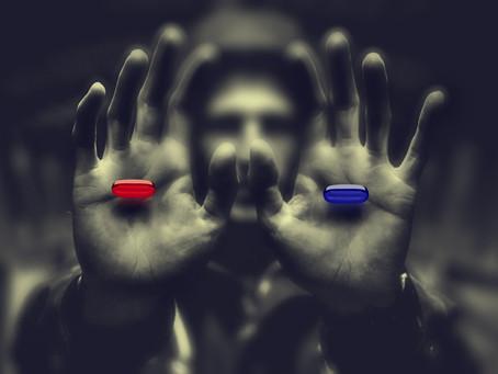 La pastilla roja y la pastilla azul