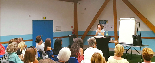Conférence Maïeusthésie Priscillia Lambert