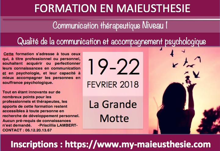 Communication et accompagnement psychologique