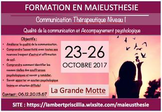 FORMATION en MAIEUSTHESIE Montpellier