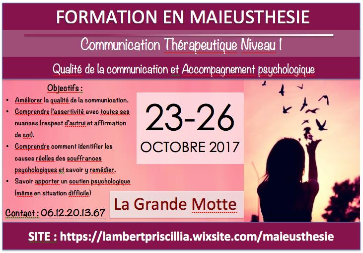 Formation Maieusthésie Montpellier - La Grande Motte