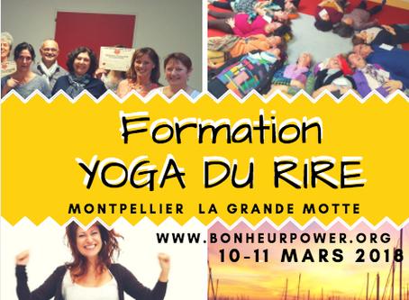 YOGA DU RIRE FORMATION Montpellier