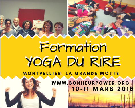 Formation Yoga du Rire Montpellier