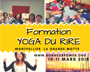 Formation Yoga du Rire Montpellier