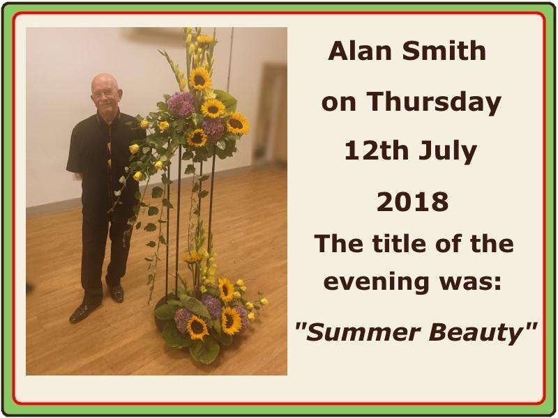 2018 07 July Alan Smith