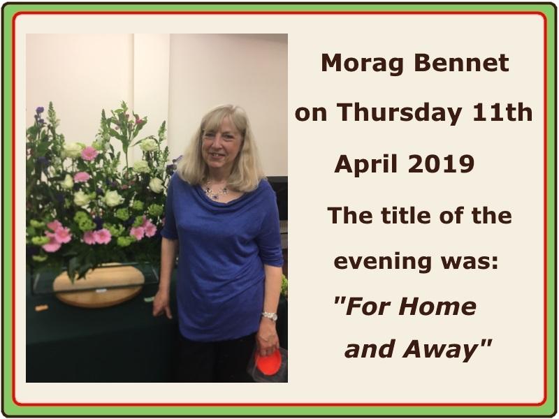 2019 04 April Morag Bennet