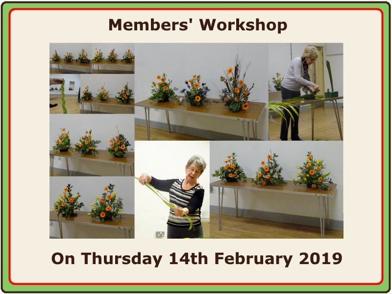 2019 02 14 Workshop