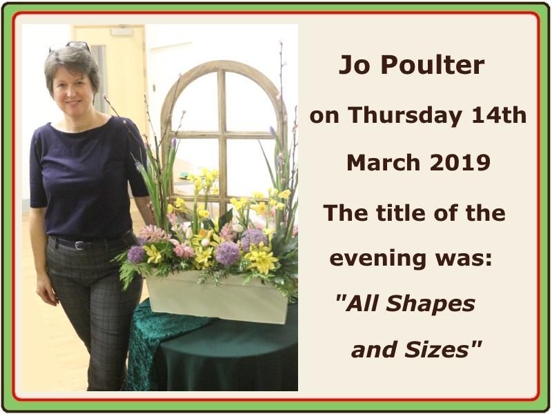 2019 03 March Jo Poulter