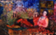 La Belle Dame Sans Merci, 13x20 (HxW), 2