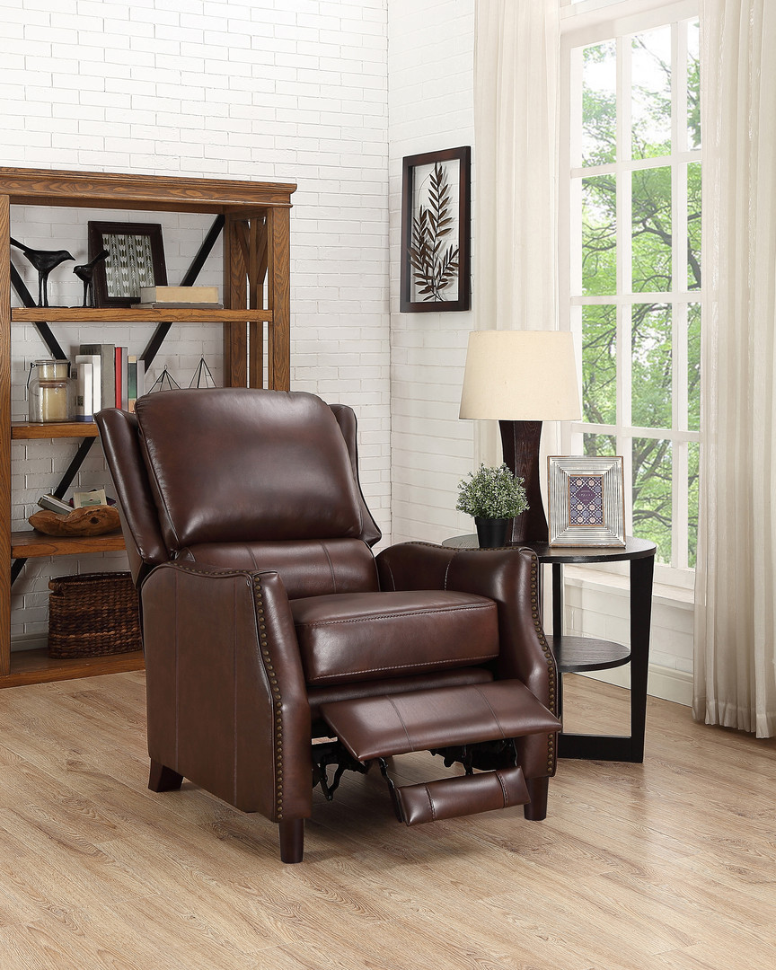 SINGLE RECLINER - BROWN