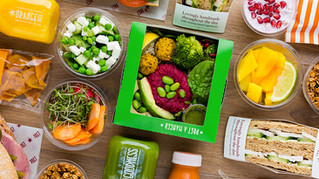 Healthy Food Choices At Pret-A-Manger