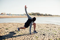 stretching, personal trainer